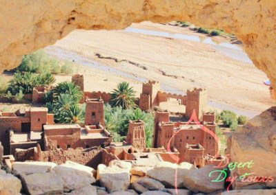 One of the thousands Kasbah's in your way From Marrakech to Merzouga desert.