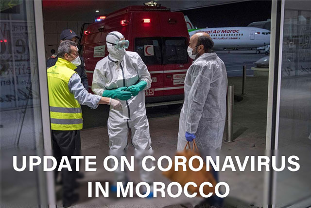 Update on coronavirus in Morocco